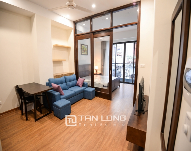 Serviced apartment for rent on Lane 19, Lieu Giai street 2