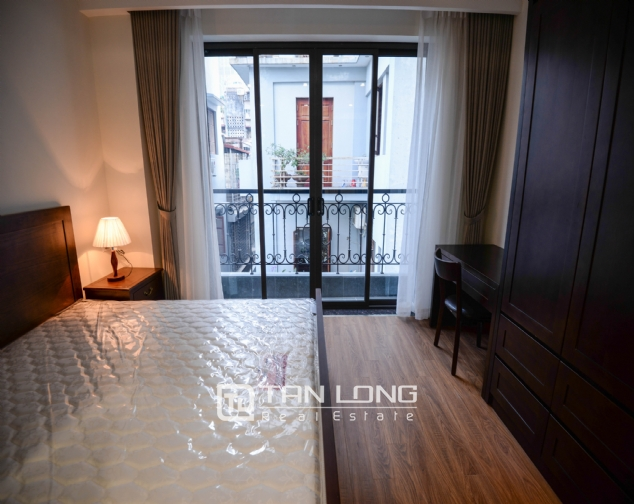 Serviced apartment for rent on Lane 19, Lieu Giai street 4