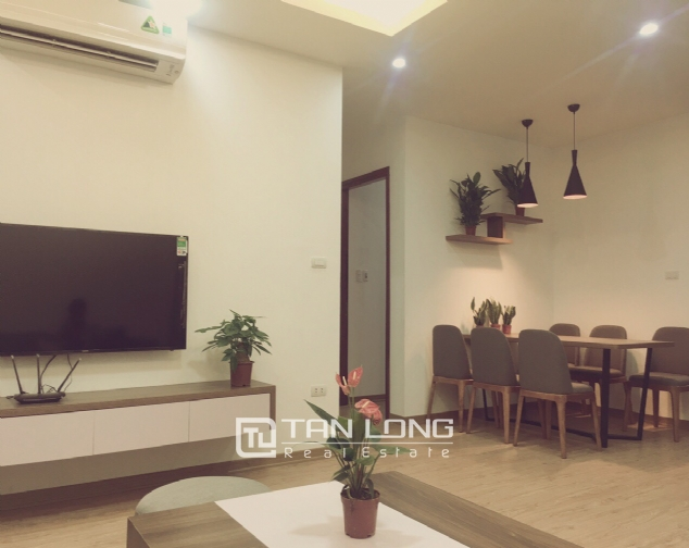 Serviced apartment for rent on lane 236 Au Co street, Tay Ho 2