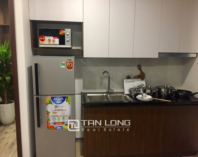 Serviced apartment for rent on Tran Quoc Hoan street 3