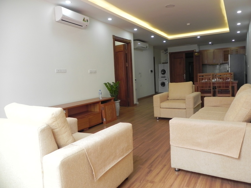 Serviced apartment with 1 bedroom for lease in Pham Ngoc Thach, Dong Da district