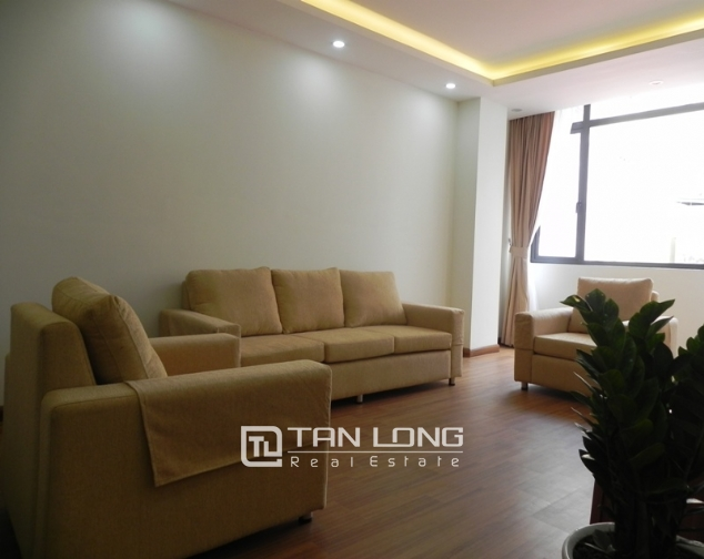 Serviced apartment with 1 bedroom for lease in Pham Ngoc Thach, Dong Da district 1
