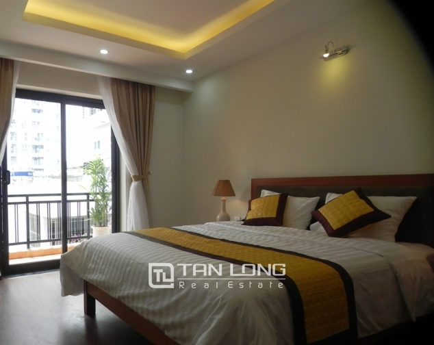 Serviced apartment with 1 bedroom for lease in Pham Ngoc Thach, Dong Da district 6
