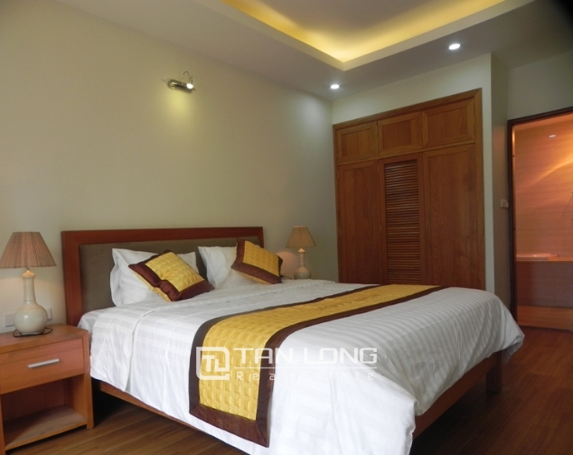 Serviced apartment with 1 bedroom for lease in Pham Ngoc Thach, Dong Da district 7