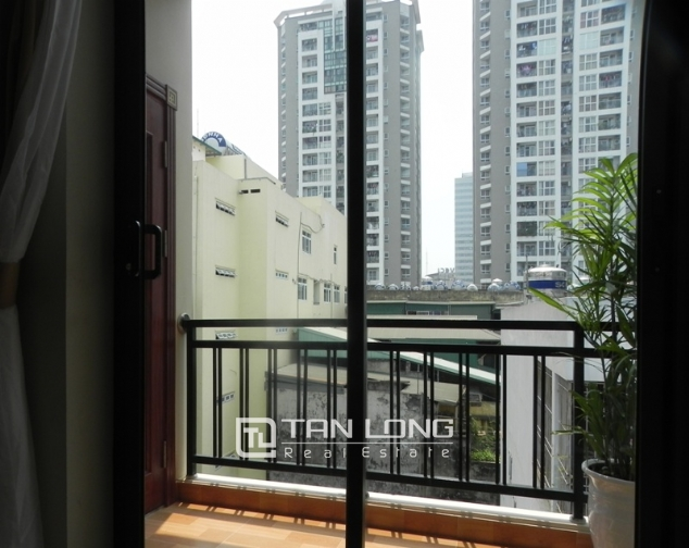 Serviced apartment with 1 bedroom for lease in Pham Ngoc Thach, Dong Da district 8