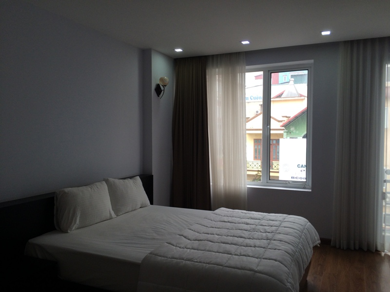 Serviced apartment with 1 bedroom for rent in Trung Kinh, Cau Giay