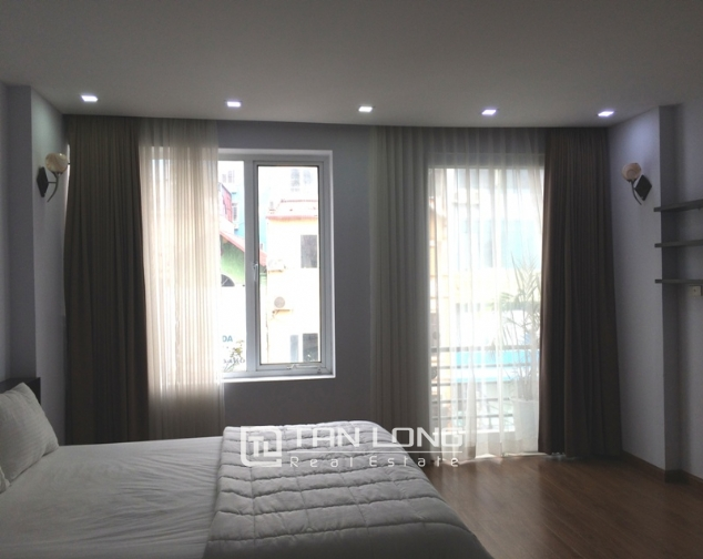 Serviced apartment with 1 bedroom for rent in Trung Kinh, Cau Giay 1