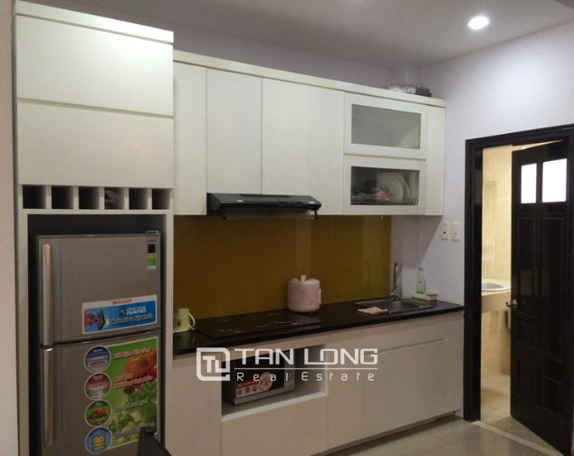 Serviced apartment with 1 bedroom for rent in Trung Kinh, Cau Giay 4