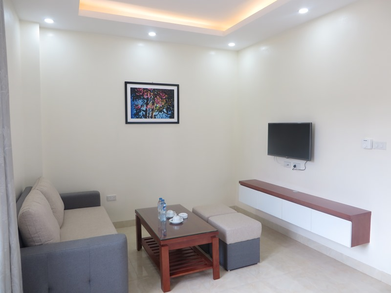 Serviced one bedroom apartment for rent in Dinh Thon, My Dinh, Hanoi
