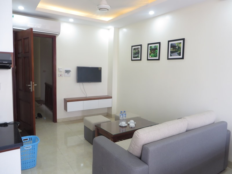 Serviced one bedroom apartment in My Dinh for lease