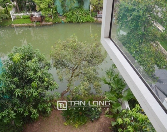 Shocking price – 1000usd for a beautiful river view and new 4 bedroom villa for rent in Hoa Lan 6 Street, Vinhomes Riverside 7