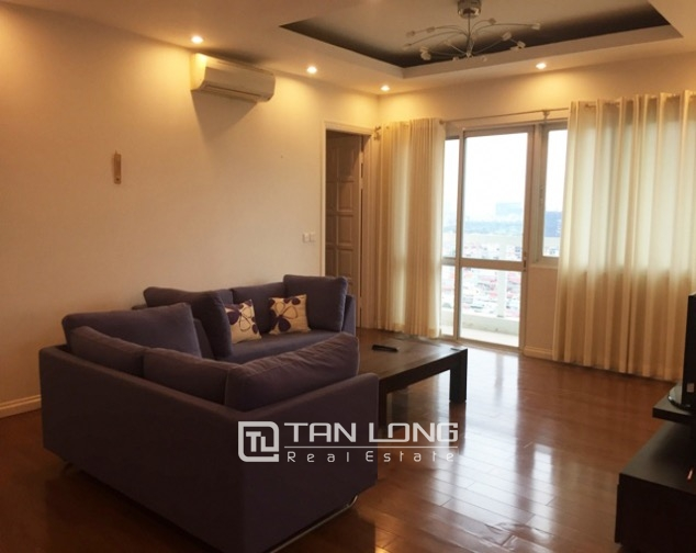 So Adorable and reasonable 3 bedroom full furnished apartment for rent in E5 building, Ciputra 1