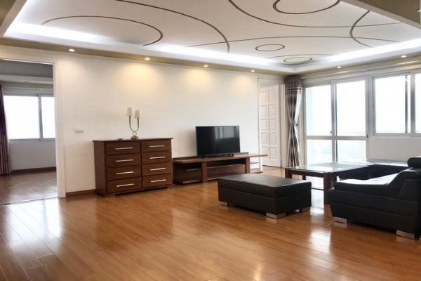 Spacious 3 bedroom apartment for rent in E4 tower Ciputra Tay Ho