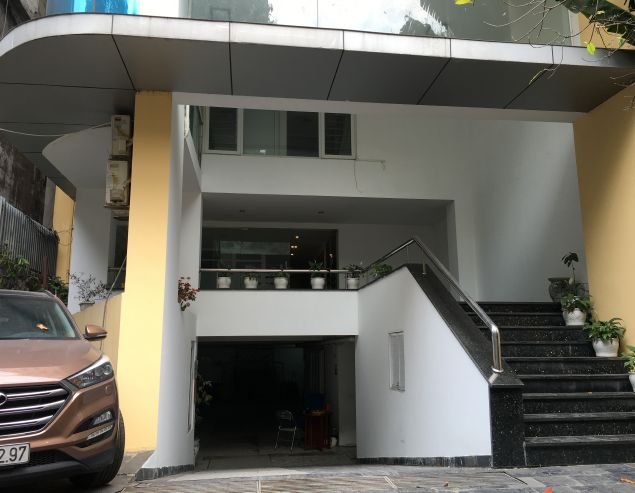 Spacious 8 storey house for rent in To Ngoc Van, Tay Ho district.