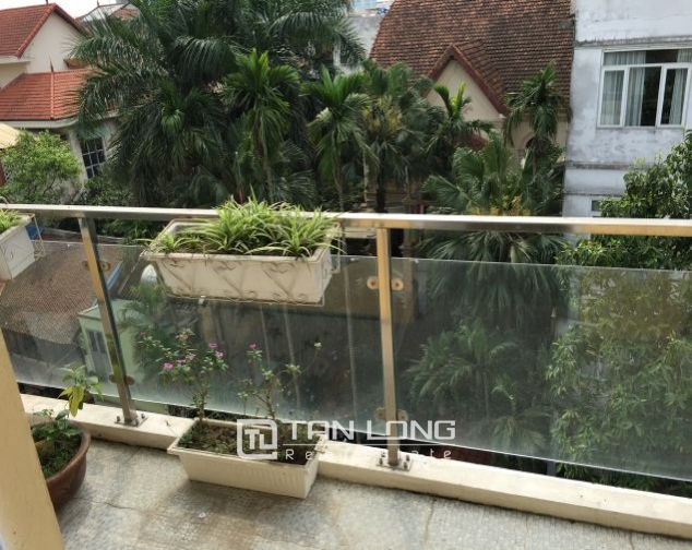 Spacious 8 storey house for rent in To Ngoc Van, Tay Ho district. 8