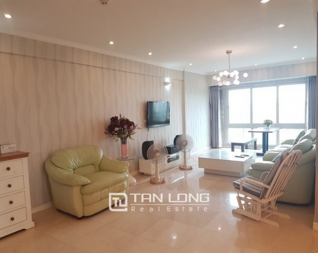 Spacious and fully furnished apartment for rent in P2 building Ciputra 1