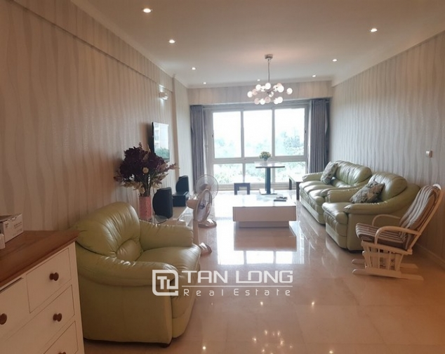 Spacious and fully furnished apartment for rent in P2 building Ciputra 2