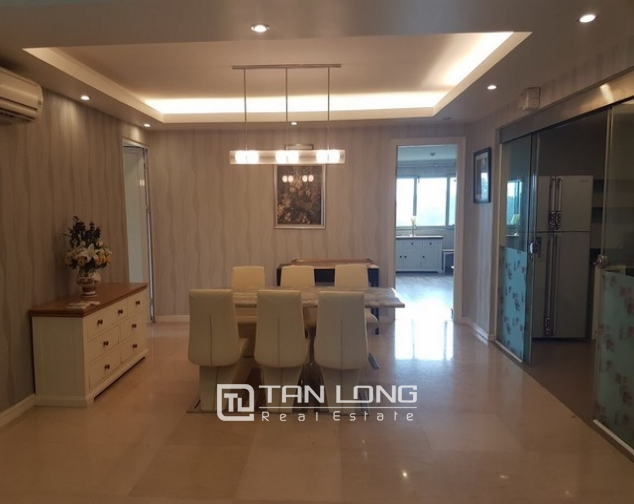 Spacious and fully furnished apartment for rent in P2 building Ciputra 4