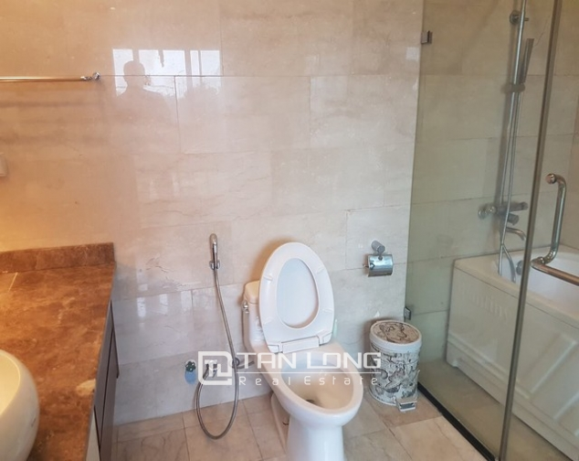 Spacious and fully furnished apartment for rent in P2 building Ciputra 10
