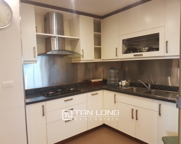 Spacious and fully furnished apartment for rent in P2 building Ciputra 5