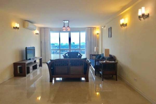SPACIOUS and furnished 4 bedroom apartment for rent in P tower Ciputra urban area