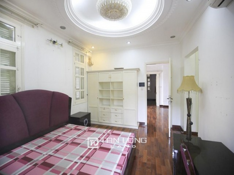 SPACIOUS  and FURNISHED  5 bedroom CORNER  villa for rent in T block Ciputra Tay Ho 1