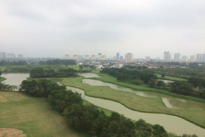 Spacious and golf view 3 bedroom apartment for rent in L4 The Link Ciputra Urban area