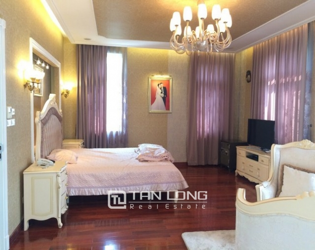 Spacious and gorgeous 5 bedroom villa for rent in T1 block Ciputra 5