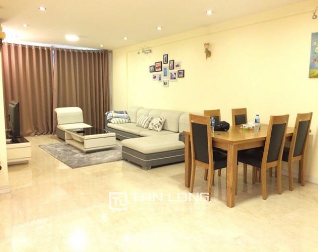 Spacious and modern 4 bedroom fully furnished for rent in P building Ciputra 1