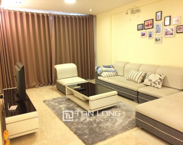 Spacious and modern 4 bedroom fully furnished for rent in P building Ciputra 2