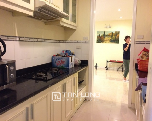 Spacious and modern 4 bedroom fully furnished for rent in P building Ciputra 3