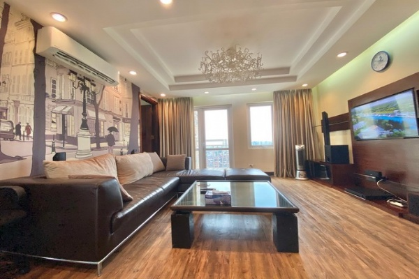 Spacious and Westlake view 3 bedroom apartment for rent in G3 Ciputra Tay Ho