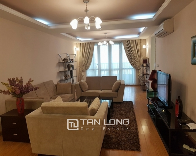 Spacious apartment for rent at Ciputra, Tay Ho distr., Hanoi 1