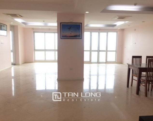 Spacious non furnished 3 bedroom apartment for rent in P building Ciputra, Tay Ho 1