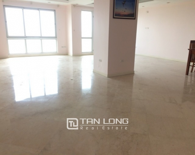 Spacious non furnished 3 bedroom apartment for rent in P building Ciputra, Tay Ho 2