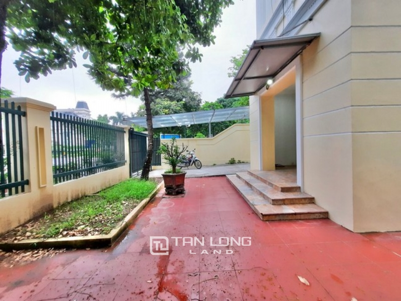 Spacious partialy furnished 5 bedroom villa for rent in C7 zone Ciputra Tay Ho Ha Noi 1