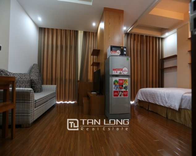 Spacious studio serviced apartment for rent in Duy Tan, Cau Giay district 1