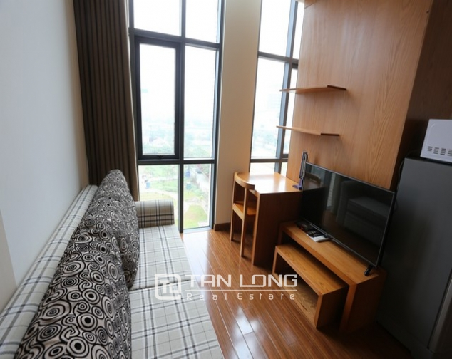 Spacious studio serviced apartment for rent in Duy Tan, Cau Giay district 2