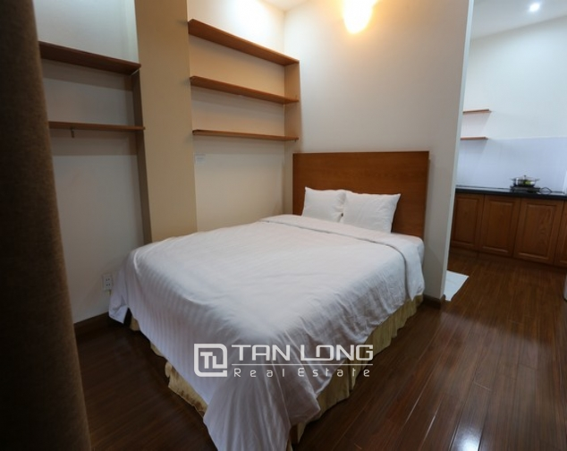 Spacious studio serviced apartment for rent in Duy Tan, Cau Giay district 6