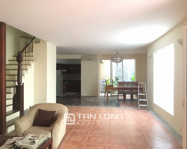 Spacious villa with 3 storeys, large garden in To Ngoc Van, Tay Ho for rent 8