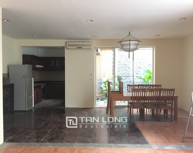 Spacious villa with 3 storeys, large garden in To Ngoc Van, Tay Ho for rent 10
