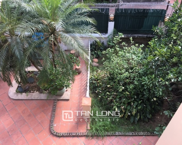 Spacious villa with 3 storeys, large garden in To Ngoc Van, Tay Ho for rent 6