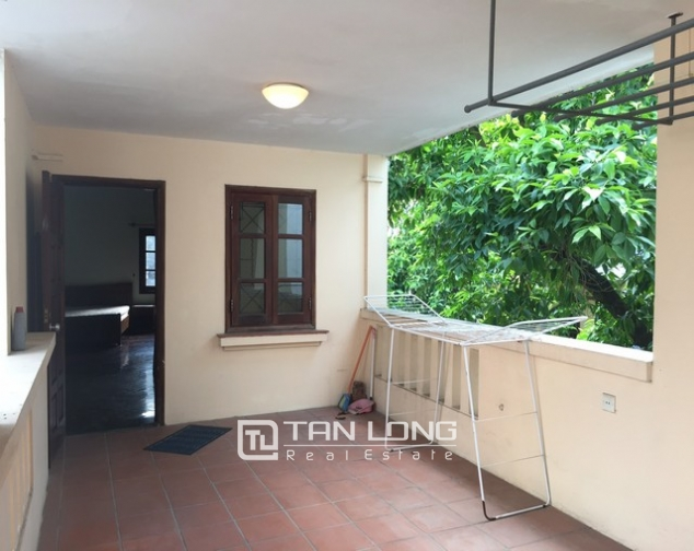 Spacious villa with 3 storeys, large garden in To Ngoc Van, Tay Ho for rent 7