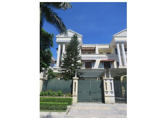 Splendid 5 storey villa for rent in C7 Ciputra, Tay Ho dist, Hanoi 1