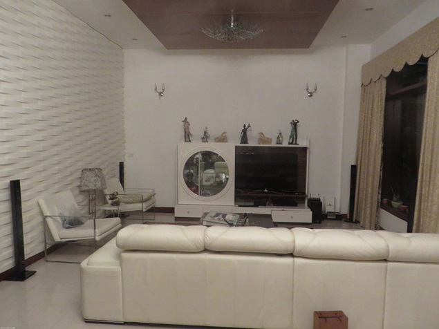 Splendid 5 storey villa for rent in C7 Ciputra, Tay Ho dist, Hanoi