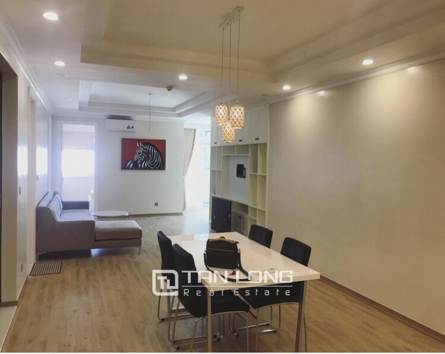 Splendid and fully furnished 3 bedroom apartment for rent in E4 building Ciputra Ha Noi 2