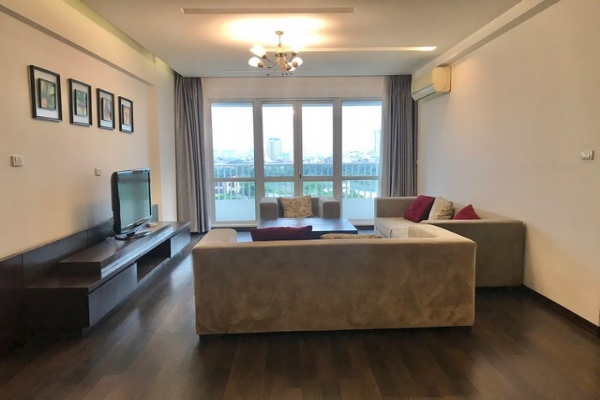 Splendid and golfview 3 bedroom apartment 182sqm for rent in P1 tower Ciputra near Ciputra club