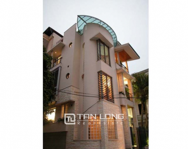 Splendid villa with 4 storey for lease in Tran Phu, Ba Dinh, Hanoi 2