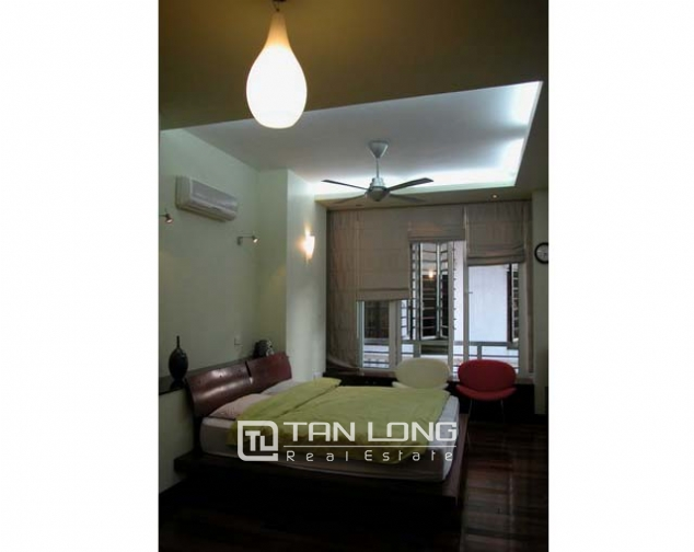 Splendid villa with 4 storey for lease in Tran Phu, Ba Dinh, Hanoi 9
