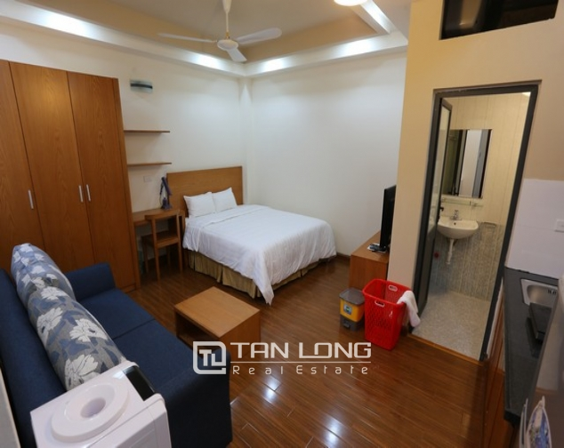 Studio apartment with nice decoration for rent in Duy Tan, Cau Giay, Hanoi 1